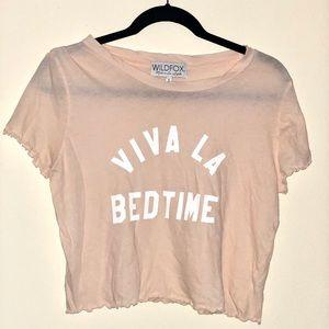 Wildfox Viva La Bedtime Shirt 'S'